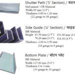 rolling shutter items manufacturer